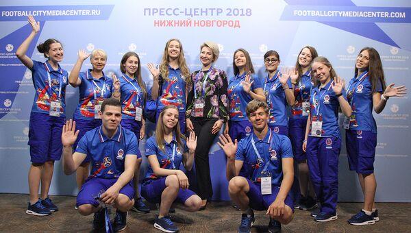 Из Замбии и Китая, от 16 до 76 лет: кто волонтерит в Нижнем Новгороде