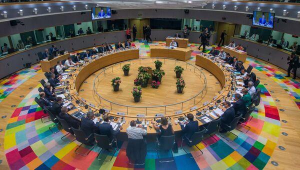 Лидеры ЕС принимают участие в саммите в Брюсселе, Бельгия. 28 июня 2018