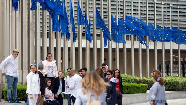 Штаб-квартира ЕС в Брюсселе, архивное фото