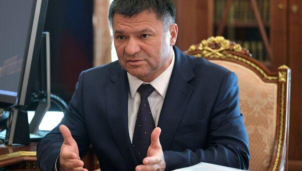 ВРИО губернатора Приморского края Андрей Тарасенко. 4 июля 2018, архивное фото