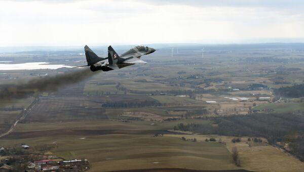Истребитель МиГ-29 ВВС Польши. Архивное фото