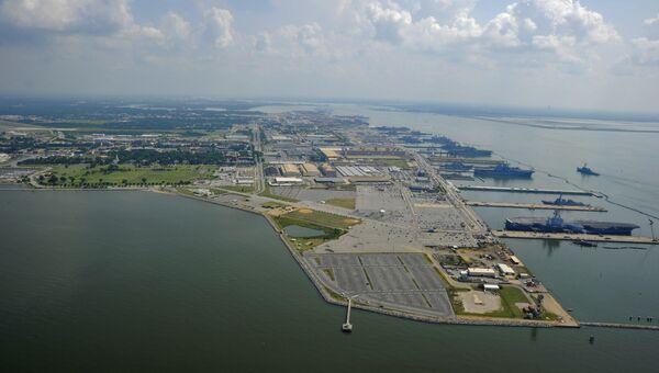 База ВМС США. Архивное фото