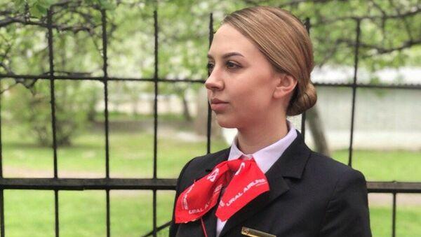 Бортпроводник Татьяна Юрьева