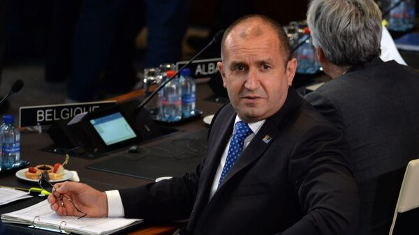 Президент Болгарии Румен Радев на саммите НАТО в Брюсселе. 11 июля 2018