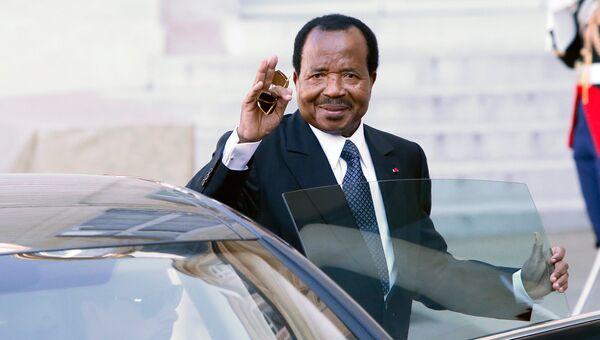 Президент Камеруна Поль Бийя. Архивное фото