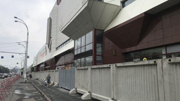 Начало сноса здания ТЦ Зимняя вишня в Кемерово. 14 июля 2018