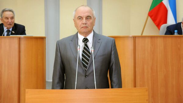Уполномоченный по правам человека в Республике Хакасия Александр Чистотин. Архивное фото