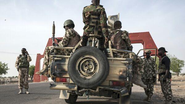 Военные на северо-востоке Нигерии. Архивное фото