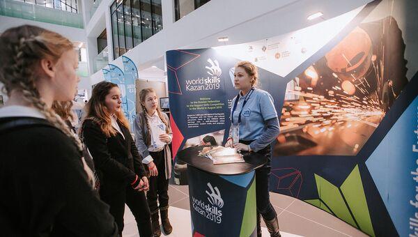 Стенд WorldSkillsKazan 2019