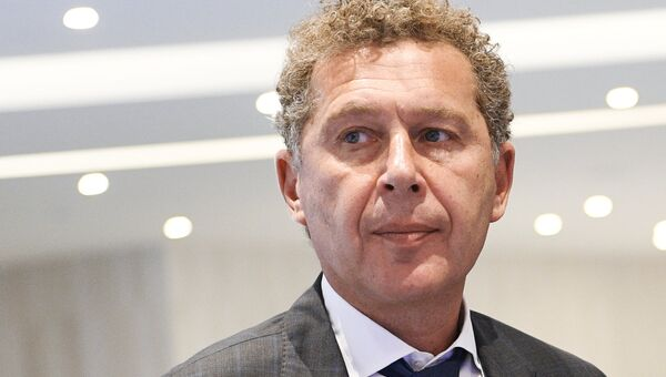 Управляющий акционер Rambler&Co Александр Мамут на Московском урбанистическом форуме.