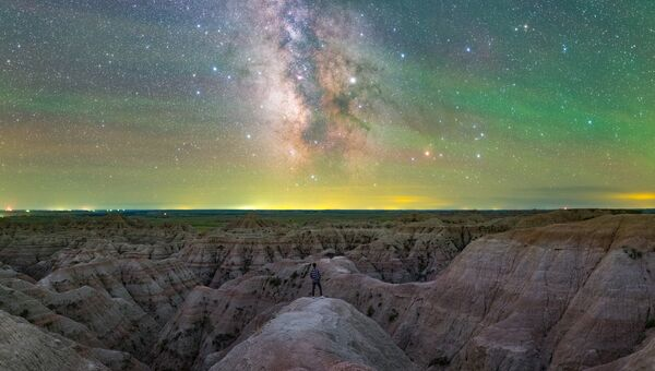 Работа фотографа Jingpeng Liu Expedition to Infinity, вошедшая в шорт-лист Insight Astronomy Photographer of the Year 2018