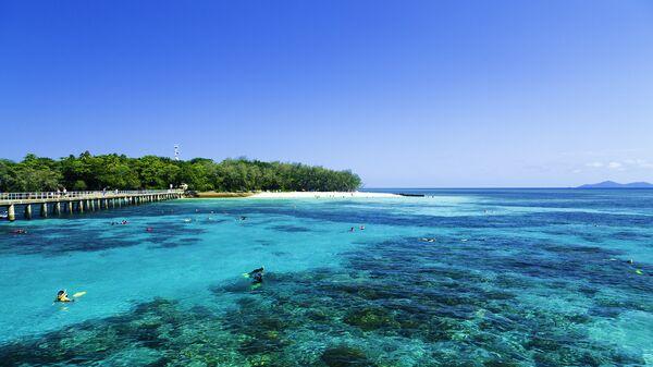 Большой Барьерный риф в штате Квинсленд, Австралия