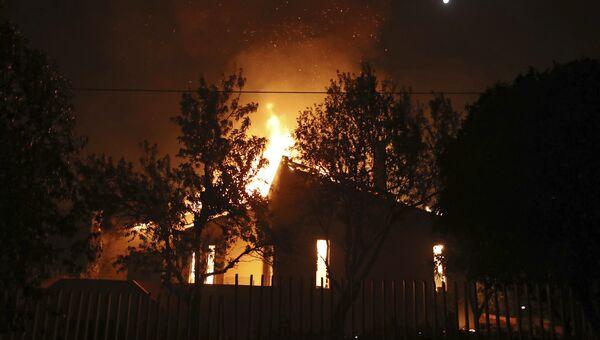 Пожар в деревне Мати в Греции. 23 июля 2018