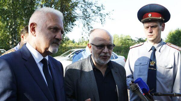 Сергей Бабуркин и Михаил Федотов во время посещения исправительной колонии №1 в Ярославле. 23 июля 2018