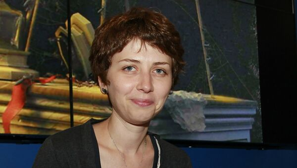 Писательница Анна Старобинец