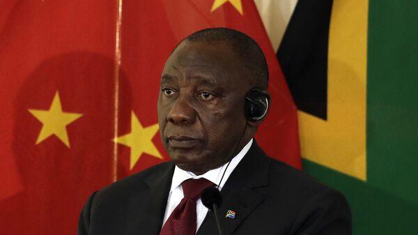 Президент Южной Африки Кирилл Рамафоза
