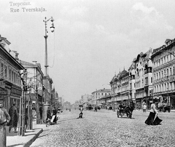 Тверская улица в начала XX века