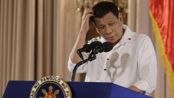 Президент Филиппин Родриго Дутерте. Архивное фото