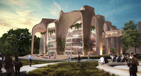 Новая библиотека Стамбульского Технического Университета