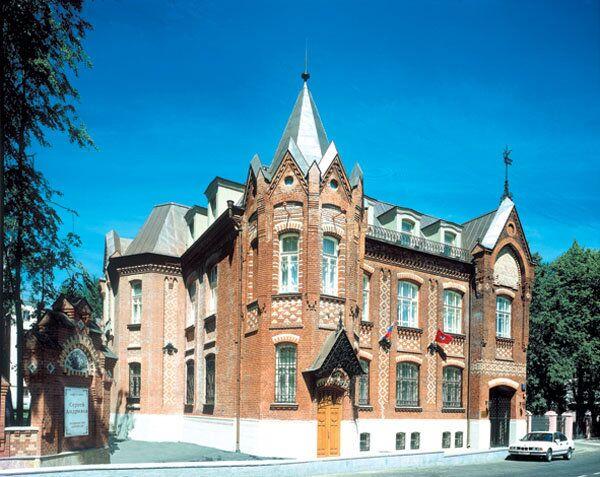 Здание академии акварели и изящных искусств Сергея Андрияки