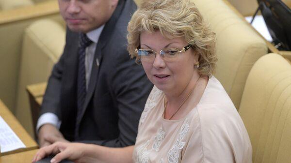 Председатель комитета Госдумы по культуре Елена Ямпольская. Архивное фото