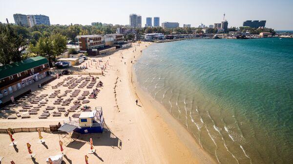 Пляж в Краснодарском Крае