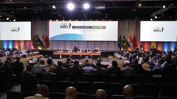 Встреча лидеров БРИКС в Йоханнесбурге. 27 июля 2018