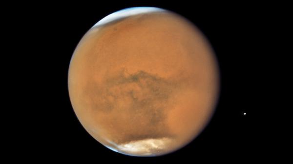 Марс снятый телескопом Хаббл