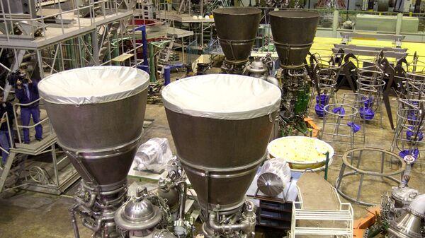 Российские ракетные двигатели РД-180, изготовленные по заказу США на НПО Энергомаш