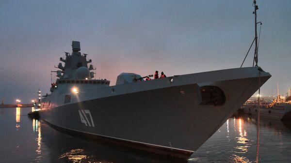 Фрегат Адмирал флота Советского Союза Горшков (проект 22350)