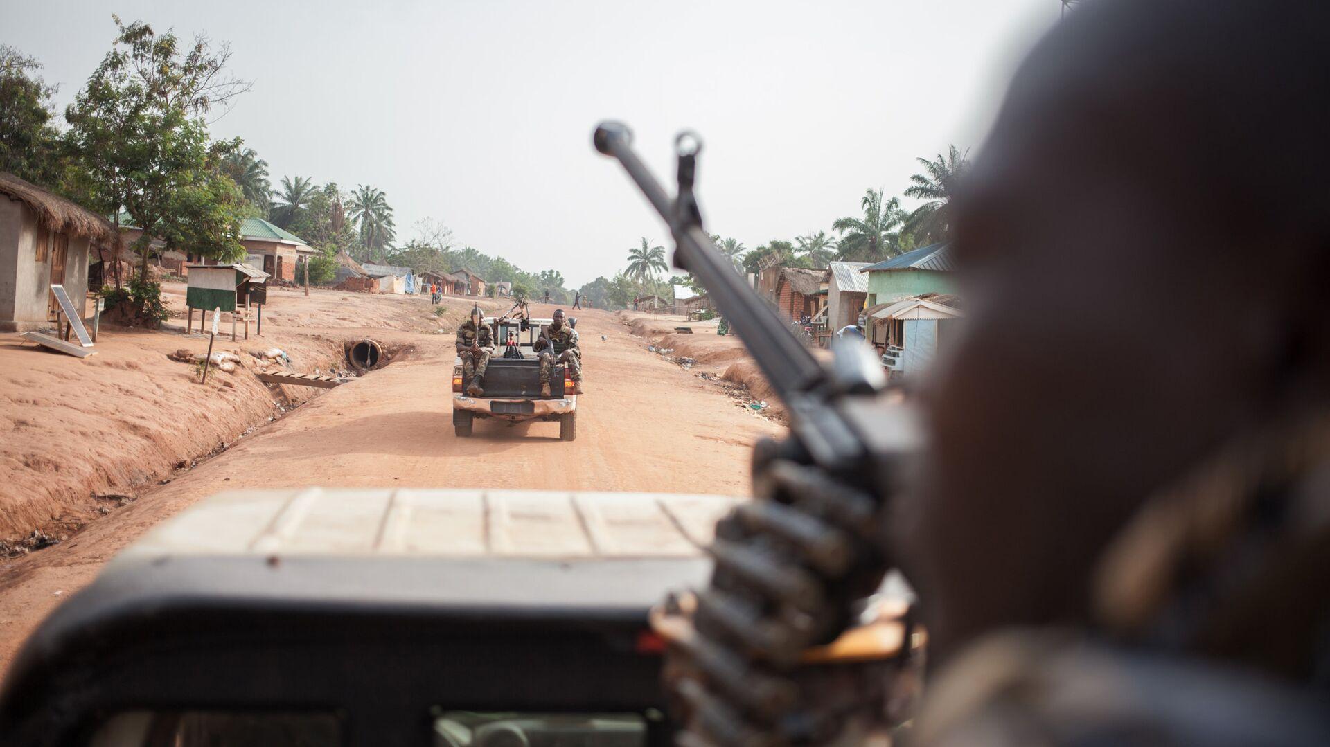 Военные в Центральноафриканской республике - РИА Новости, 1920, 09.01.2021