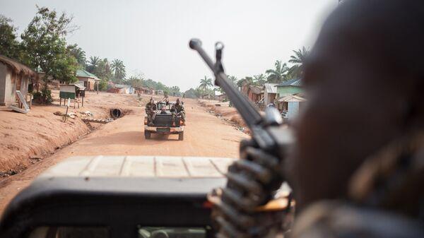 Военные в Центральноафриканской республике