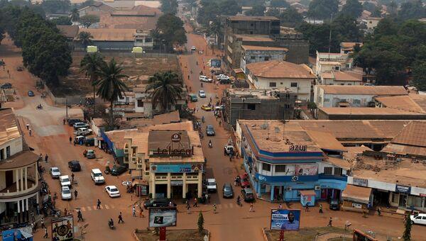 Общий вид столицы Центральноафриканской республики Банги. Архивное фото