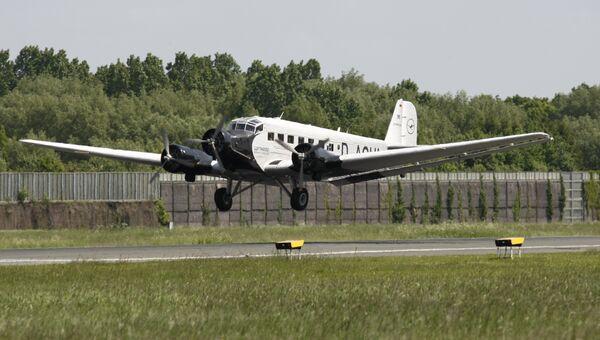 Самолет Junkers Ju-52. Архивное фото