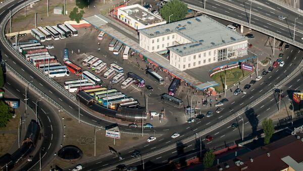 Центральный автовокзал в Киеве. Архивное фото