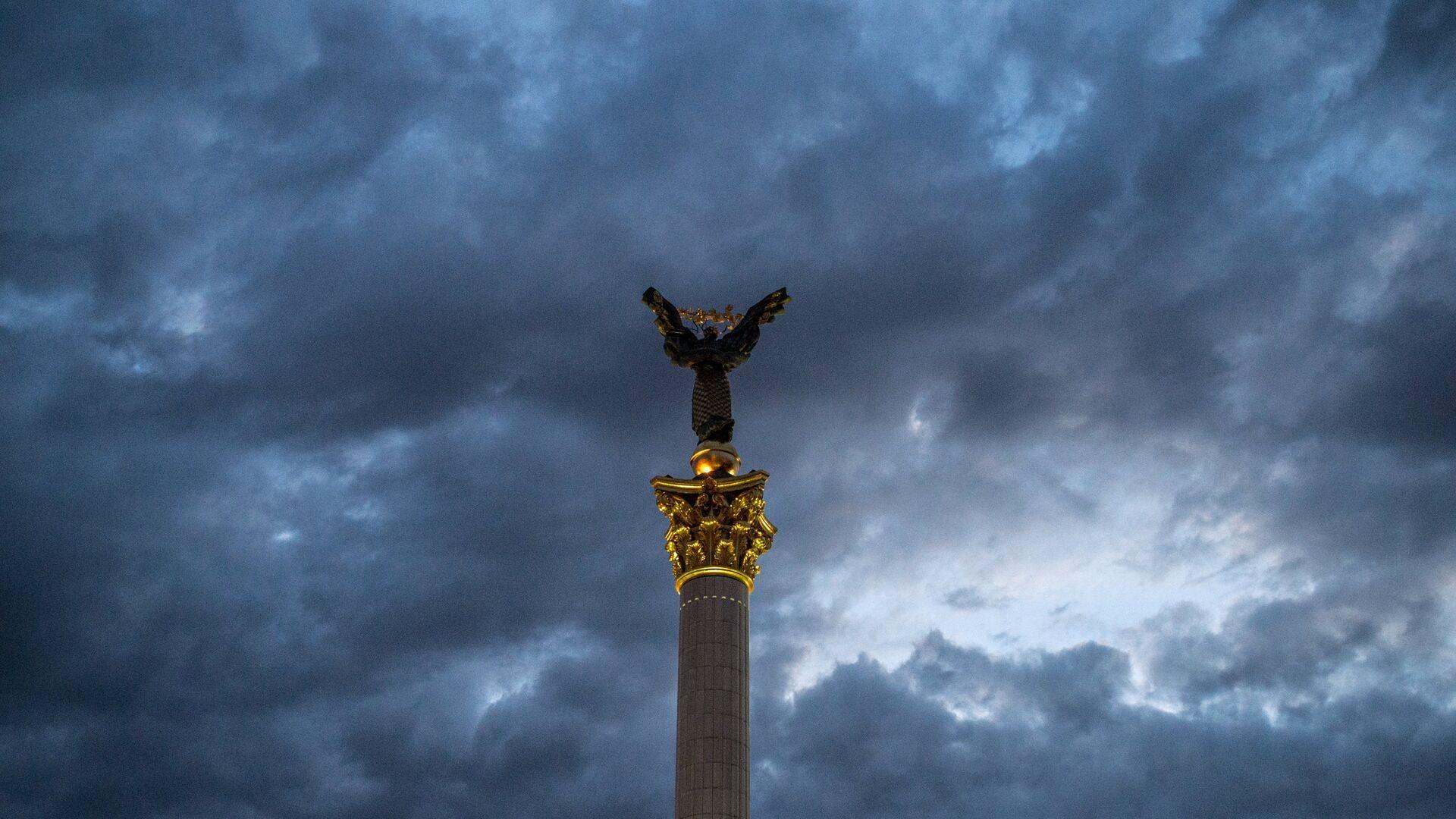 Монумент Независимости Украины в Киеве - РИА Новости, 1920, 17.01.2021