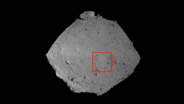Снимок Рюгю, полученный навигационной камерой Хаябусы-2 сближением с астероидом
