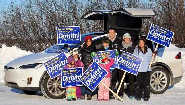 Дмитрий Шейн с семьей