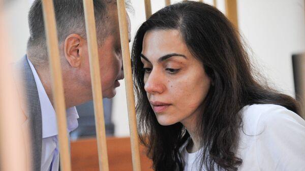 Ходатайство следствия о продлении ареста Карины Цуркан в Лефортовском суде