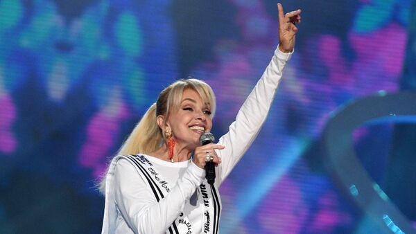 Певица Лайма Вайкуле на конкурсе Новая волна - 2017 в Сочи