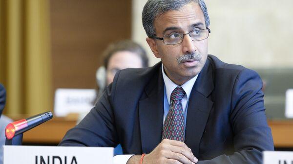 Посол Индии в РФ Бала Венкатеш Варма. Архивное фото