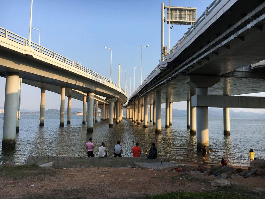 Мосты из Шэньчжэня в Гонконг