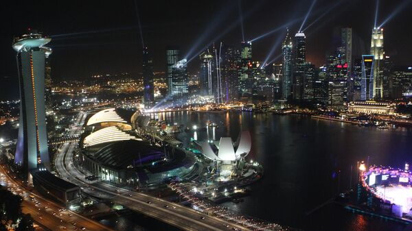 Вид на Сингапур. Архивное фото