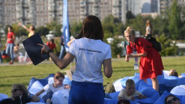 Мастер-класс в Братеевском каскадном парке Москвы, где проходит фестиваль фейерверков Ростех