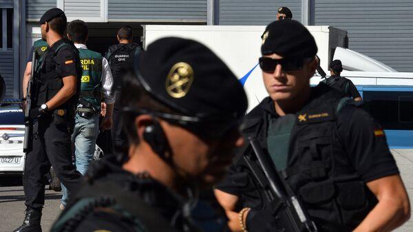 Гражданская гвардия Испании. Архивное фото