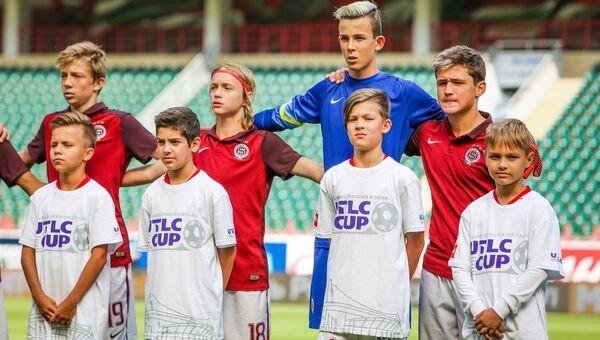 Участники Международного молодежного кубка по футболу UTLC Cup 2018