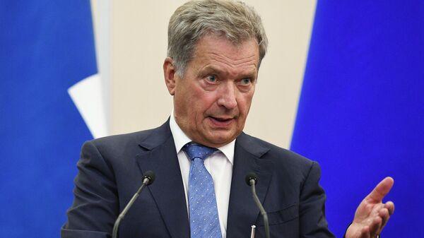Президент Финляндии Саули Ниинистё, архивное фото