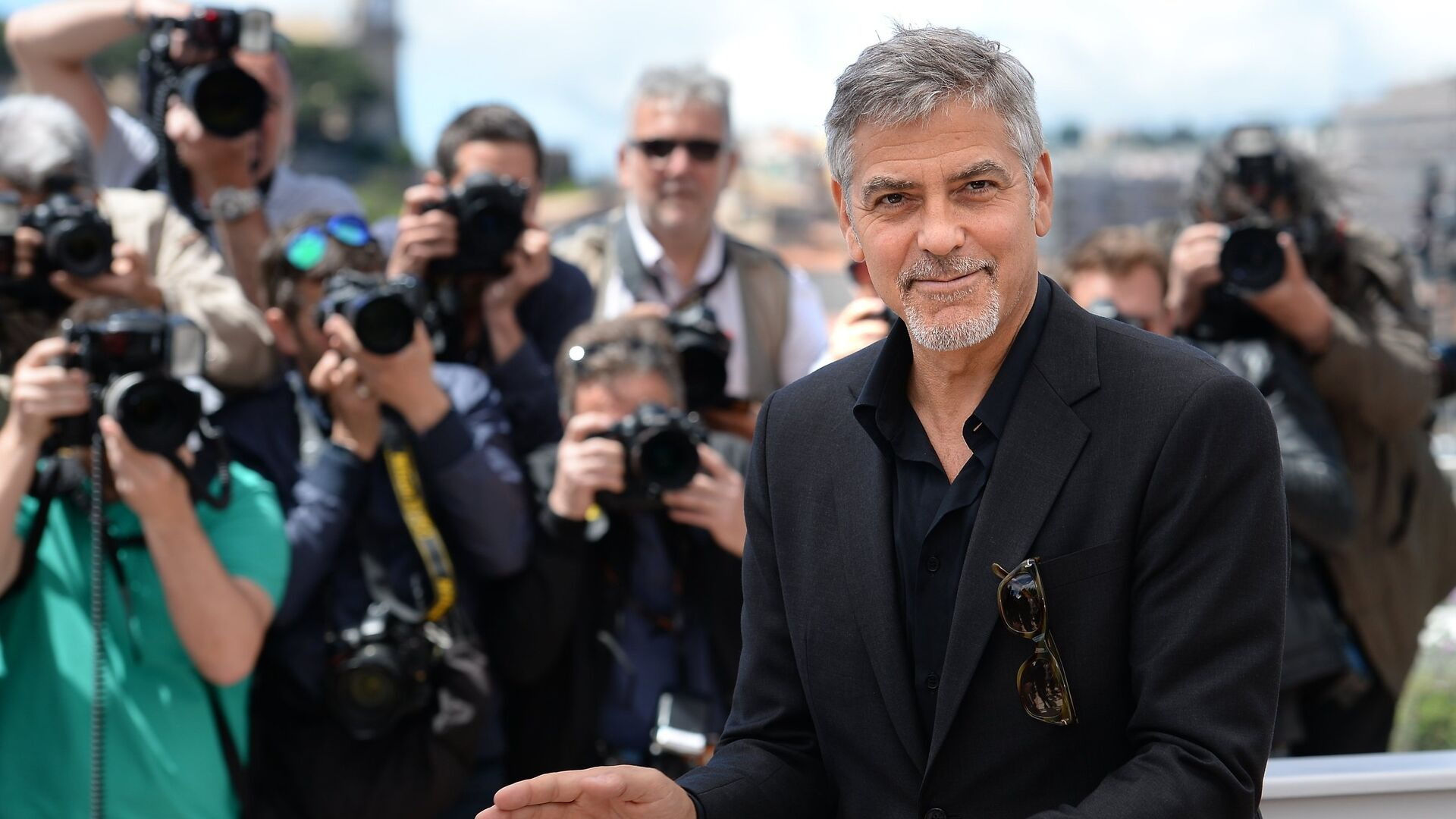 Актер Джордж Клуни - РИА Новости, 1920, 22.12.2020
