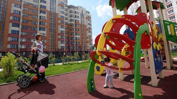 Детская площадка в Южном Бутово