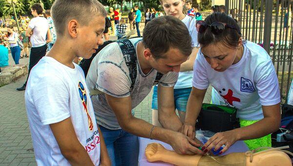Волонтеры-медики поддержат Универсиаду-2019 в России